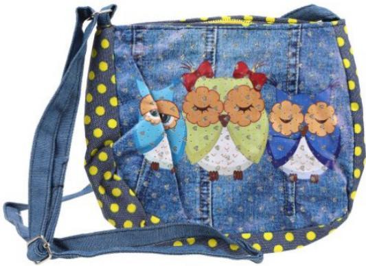 Купить Сумочка декоративная Наша Игрушка Деним цвет в ассортименте, н/д, Рюкзаки и сумки для дошкольников