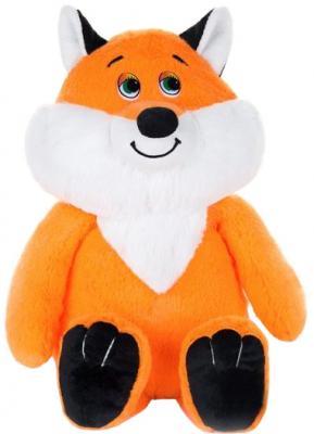 Мягкая игрушка лисёнок Jack Lin Рыжуля оранжевый белый черный 22 см