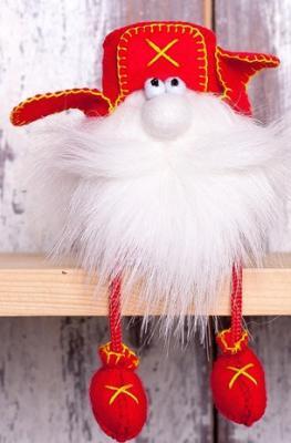 """Набор для изготовления текстильной игрушки Перловка """"Гном в ушанке"""" от 3 лет набор для изготовления игрушки феникс набор для изготовления игрушки"""