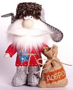 цена на Набор для изготовления текстильной игрушки Перловка Домовой от 3 лет