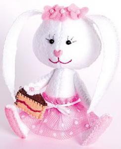 Набор для изготовления текстильной игрушки Перловка Зайка Сластёна от 3 лет перловка набор для изготовления игрушки фея рукоделия перловка