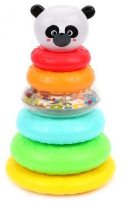 Купить Развивающая игрушка Жирафики Панда-пирамидка , Развивающие центры для малышей