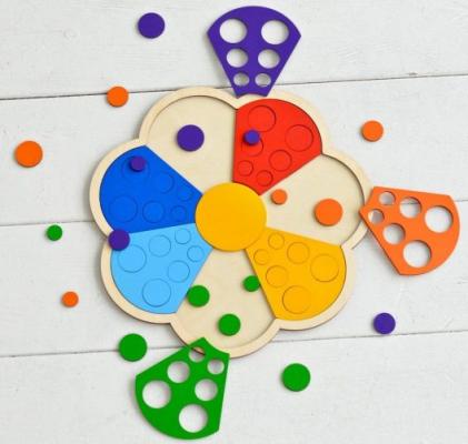 Мозаика-сортер Raduga Kids Цветик-семицветик