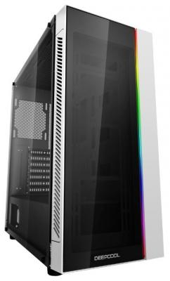 Корпус Deepcool MATREXX 55 без БП, большое боковое окно, RGB LED спереди, белый, ATX