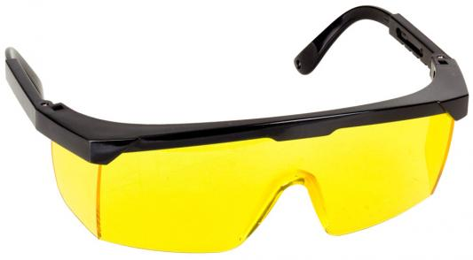 Очки STAYER MASTER защитные, желтые, регулируемые по длине дужки очки защитные dde желтые