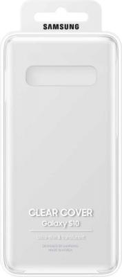 Чехол (клип-кейс) Samsung для Samsung Galaxy S10 Clear Cover прозрачный (EF-QG973CTEGRU) чехол samsung ef qg570ttegru для samsung galaxy j5 prime clear cover прозрачный