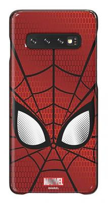 Чехол (клип-кейс) Samsung для Samsung Galaxy S10 Marvel Case Spiderman красный (GP-G973HIFGKWD) чехол клип кейс samsung для samsung galaxy s10 marvel case avlogo черный gp g973hifgkwe