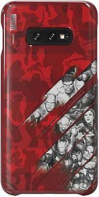 Чехол (клип-кейс) Samsung для Samsung Galaxy S10e Marvel Case AvComics красный (GP-G970HIFGHWI) клип кейс uniq samsung galaxy s10e black