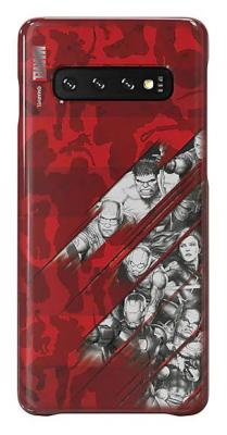 Чехол (клип-кейс) Samsung для Samsung Galaxy S10 Marvel Case AvComics красный (GP-G973HIFGKWI) цена
