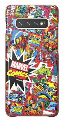 Чехол (клип-кейс) Samsung для Samsung Galaxy S10+ Marvel Case MComics красный (GP-G975HIFGHWH) чехол клип кейс samsung для samsung galaxy s10 marvel case avlogo черный gp g973hifgkwe
