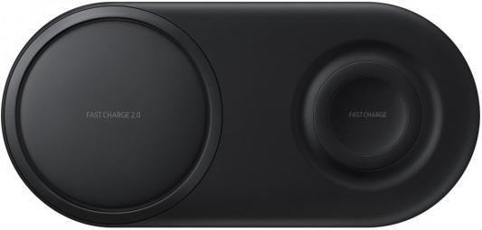 Беспроводное зарядное устройство Samsung EP-P5200 2.1A черный EP-P5200TBRGRU беспроводное зарядное устройство samsung ep n5100 1а [ep n5100bwrgru] белый
