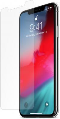 Защитная плёнка прозрачная Belkin F8W902DSAPL для iPhone XS Max защитная плёнка прозрачная belkin anti glare для iphone 7 plus f8w762dsapl