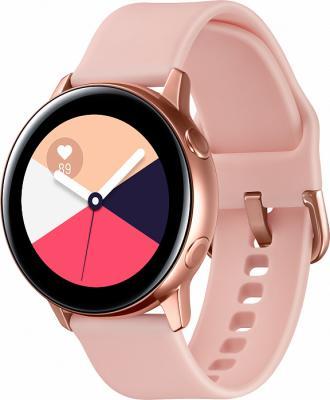 Фото - Смарт-часы Samsung Galaxy Watch Active 39.5мм 1.1 Super AMOLED розовое золото (SM-R500NZDASER) часы samsung galaxy watch active sm r 500 n зелёный