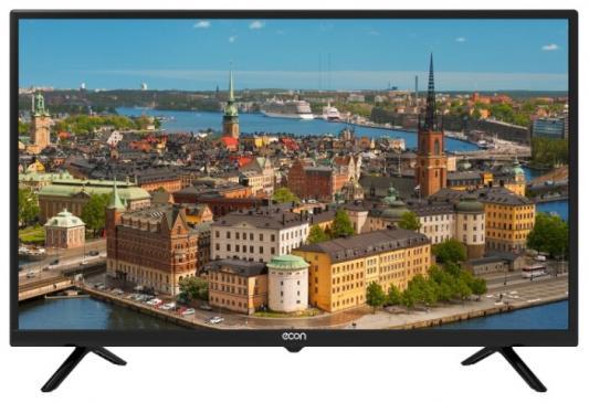 цена на Телевизор LED 32 ECON EX-32HT003B черный 1366x768 50 Гц USB S/PDIF