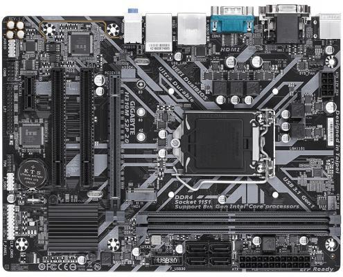 все цены на Материнская плата GigaByte H310M S2P 2.0 Socket 1151 v2 H310 2xDDR4 1xPCI-E 16x 2xPCI 1xPCI-E 1x 4 mATX Retail онлайн