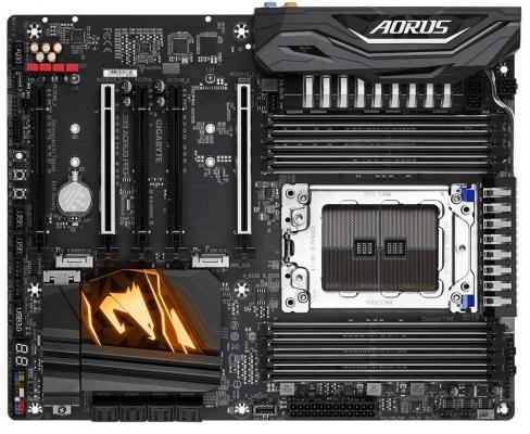 Материнская плата GigaByte X399 AORUS PRO Socket TR4 AMD 8xDDR4 5xPCI-E 16x 8 ATX Retail