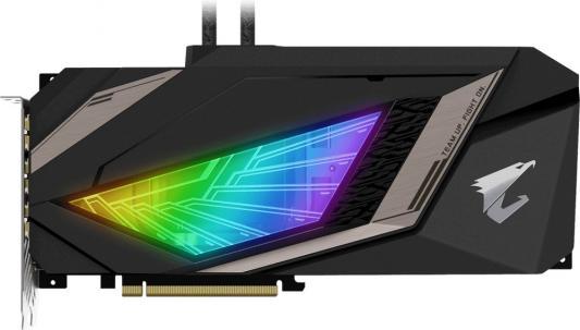 Видеокарта GigaByte nVidia GeForce RTX 2080 Ti AORUS XTREME WATERFORCE PCI-E 11264Mb GDDR6 352 Bit Retail GV-N208TAORUSX W-11GC