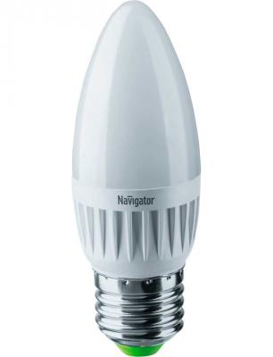 Лампа светодиодная свеча Navigator NLL-C37-7-230-2.7K-E27-FR (94 493) E27 7W 2700K NLL-C37-7-230-2.7K-E27-FR  (94 493)