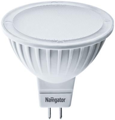 Лампа светодиодная рефлекторная Navigator NLL-MR16-7-230-3K-GU5.3 ( 94 244) GU5.3 7W 3000K лампочка navigator 94 246 nll mr16 7 230 6 5k gu5 3