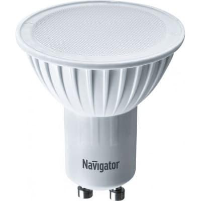Лампа светодиодная рефлекторная Navigator NLL-PAR16-5-230-3K-GU10 (94 264) GU10 5W 3000K лампа светодиодная [поставляется по 10 штук] eglo лампа светодиодная smd gu10 5вт 3000k 11535 [поставляется по 10 штук]