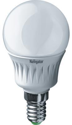 Лампа светодиодная шар Navigator NLL-P-G45-5-230-4K-E14 (94 478) E14 5W 4000K лампочка navigator 94 131 nll g45 5 230 4k e14