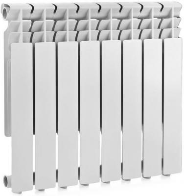 РАДИАТОР БИМЕТАЛЛ. 8 СЕКЦИЙ 500/80 (1) LAMMIN радиатор алюмин 12 секций 500 80 1 lammin