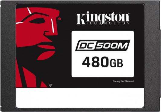 Kingston 480GB SSDNow DC500M (Mixed-Use) SATA 3 2.5 (7mm height) 3D TLC kingston ssdnow v300 480гб 2 5 mlc 3 5 адаптер