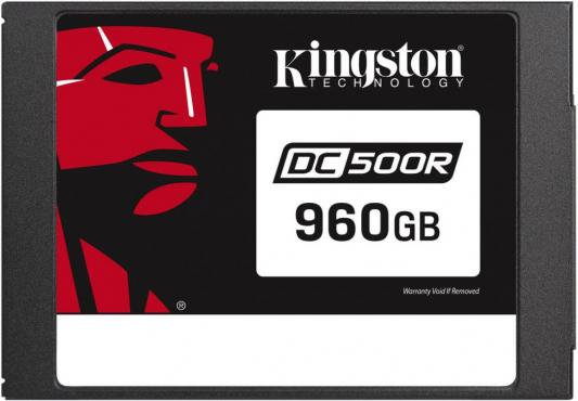 "Твердотельный накопитель SSD 2.5"" 960 Gb Kingston SEDC500M/960G Read 555Mb/s Write 520Mb/s 3D NAND TLC"