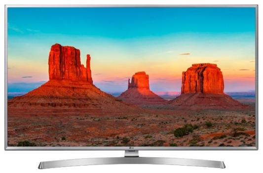 лучшая цена Телевизор LG 43UK6550PLD серебристый