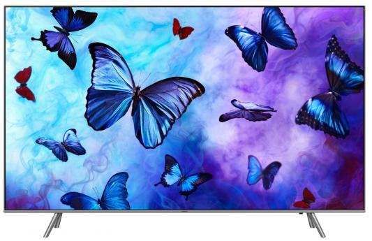 "Телевизор QLED Samsung 75"" QE75Q6FNAUXRU серебристый/Ultra HD/1400Hz/DVB-T2/DVB-C/DVB-S2/USB/WiFi/Smart TV (RUS) все цены"