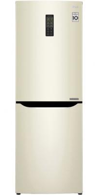 Холодильник LG GA-B379SYUL бежевый холодильник lg ga b499yeqz бежевый