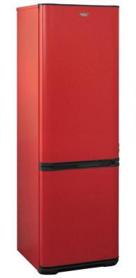 Холодильник Бирюса Б-H320NF красный (двухкамерный) холодильник бирюса б m133 серебристый