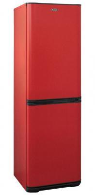 Холодильник Бирюса Б-H340NF красный (двухкамерный) холодильник бирюса б m133 серебристый