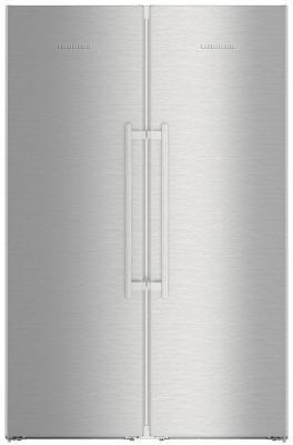 Холодильник Side by Side Liebherr SBSES 8663 нержавеющая сталь холодильник side by side liebherr sbses 8663