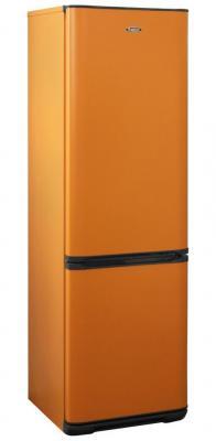 Фото - Холодильник Бирюса Б-T360NF оранжевый (двухкамерный) двухкамерный холодильник hitachi r vg 472 pu3 gbw