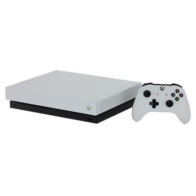 Игровая консоль Microsoft Xbox One X 1Tb белый в комплекте: игра: Metro 2033 Redux игра для xbox one microsoft project spark 4ts 00029