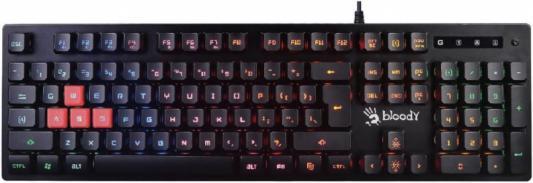 лучшая цена Клавиатура A4 B160N черный USB Gamer LED