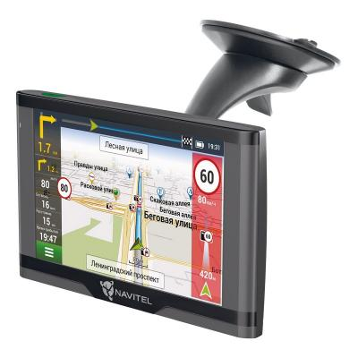 "Навигатор Автомобильный GPS Navitel N500 MAG 5"" 480x272 4Gb microSDHC серый Navitel"