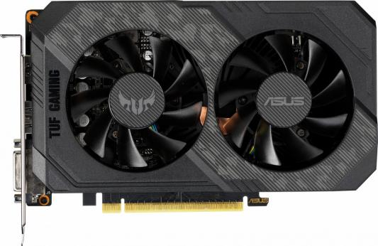 Видеокарта ASUS GeForce GTX 1660 Ti TUF Gaming OC Edition PCI-E 6144Mb GDDR6 192 Bit Retail (TUF-GTX1660TI-O6G-GAMING) видеокарта asus geforce gtx 1660 ti rog strix oc edition pci e 6144mb gddr6 192 bit retail rog strix gtx1660ti o6g gaming 90yv0cq0 m0na00