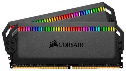 Оперативная память 16Gb (2x8Gb) PC4-28800 3600MHz DDR4 DIMM CL18 Corsair CMT16GX4M2C3600C18 цены онлайн