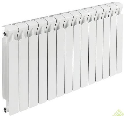 Радиатор RIFAR B500 х14 сек (собранный) биметаллический радиатор rifar рифар b 500 нп 10 сек лев кол во секций 10 мощность вт 2040 подключение левое