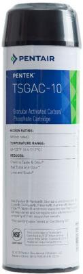 TSGAC-10 Картридж Pentek гранулированный активированный уголь с гексаметафосфатом, 20 мкм картридж pentek cc 10