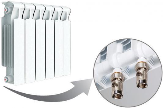 Радиатор RIFAR Monolit 350 х 6 сек НП прав (MVR) 50мм биметаллический радиатор rifar monolit ventil mvr 350 04