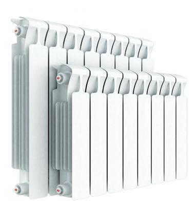 Радиатор RIFAR Monolit 350 х14 сек НП лев (MVL) 50мм биметаллический радиатор rifar рифар b 500 нп 10 сек лев кол во секций 10 мощность вт 2040 подключение левое