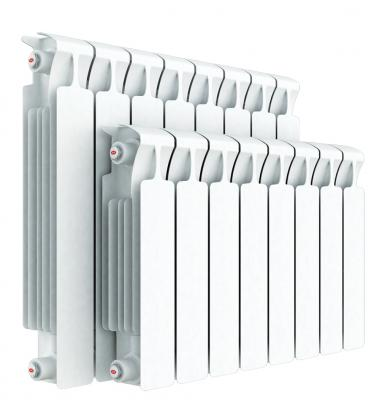 Радиатор RIFAR Monolit 500 х 4 сек НП лев (MVL) биметаллический радиатор rifar рифар b 500 нп 10 сек лев кол во секций 10 мощность вт 2040 подключение левое