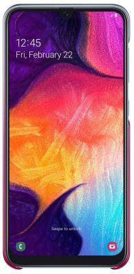 Чехол (клип-кейс) Samsung для Samsung Galaxy A50 Gradation Cover розовый (EF-AA505CPEGRU) клип кейс samsung dual layer ef pj330 для galaxy j3 2017 голубой