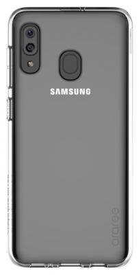 Чехол (клип-кейс) Samsung для Samsung Galaxy A20 araree A cover прозрачный (GP-FPA205KDATR)