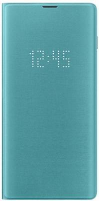 Чехол (флип-кейс) Samsung для Samsung Galaxy S10+ LED View Cover зеленый (EF-NG975PGEGRU)