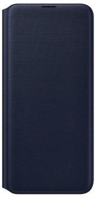 Чехол (флип-кейс) Samsung для Samsung Galaxy A20 Wallet Cover черный (EF-WA205PBEGRU) чехол флип кейс samsung для samsung galaxy note 9 leather wallet cover черный ef wn960lbegru