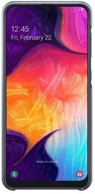 Чехол (клип-кейс) Samsung для Samsung Galaxy A50 Gradation Cover черный (EF-AA505CBEGRU)